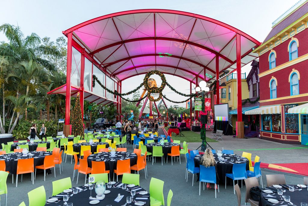 Event held at Dreamworld on the Gold Coast