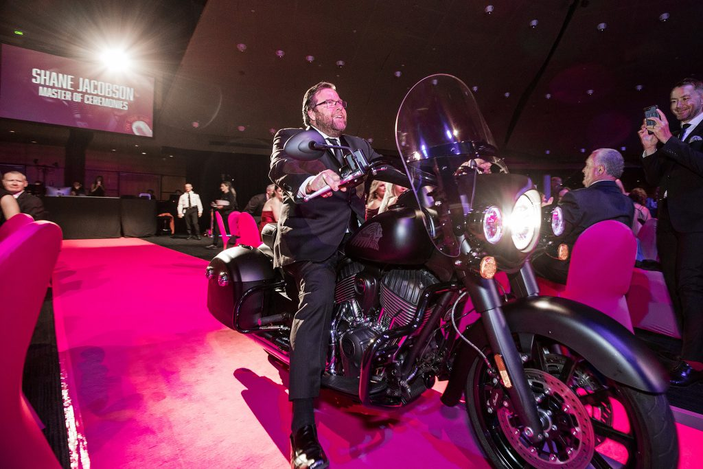 Shane Jacobson at the Keno and Clubs Queensland Awards For Excellence 2018