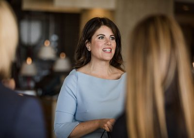 Monica Lewinsky at Vivo Restaurant Gold Coast