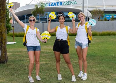 promo staff at Australian open - pr photography