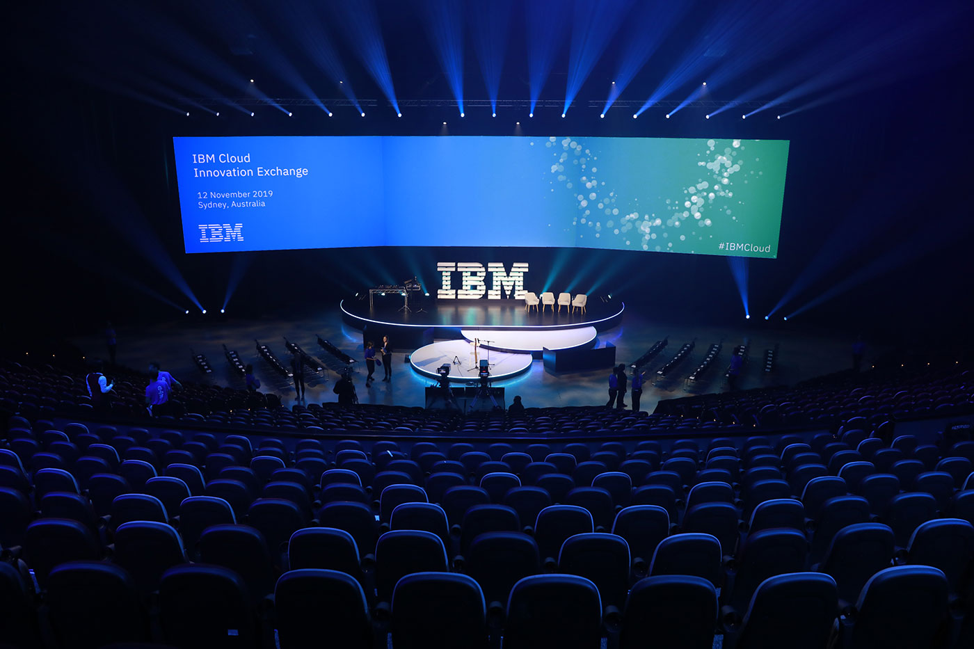 Conference for IBM at Sydney ICC